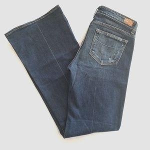 Paige Robertson Wide leg Flare jeans 30 EUC